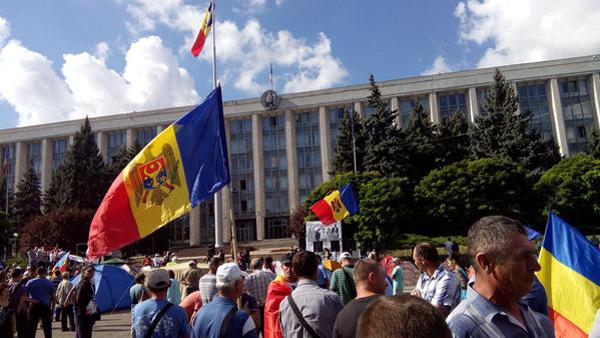 """Майдан в Кишиневе. Запад решил сменить """"недостаточно европейские"""" власти Молдавии"""