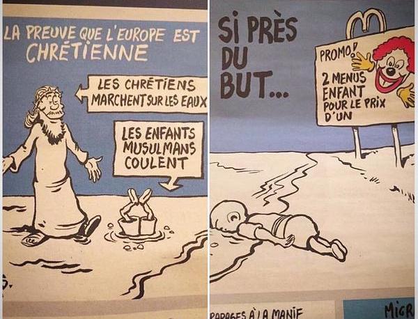 Карикатуристы Charlie Hebdo хотят, чтобы их «замочили» ещё раз?