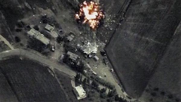 Российская авиация во второй раз разбомбила командный пункт ИГ