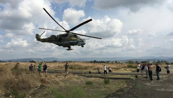 Российские пилоты Ми-24 в Сирии восхитили западные СМИ