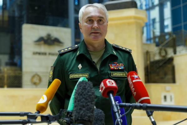 Начальник Главного оперативного управления Генштаба Вооруженных сил РФ генерал-полковник Андрей Картаполов