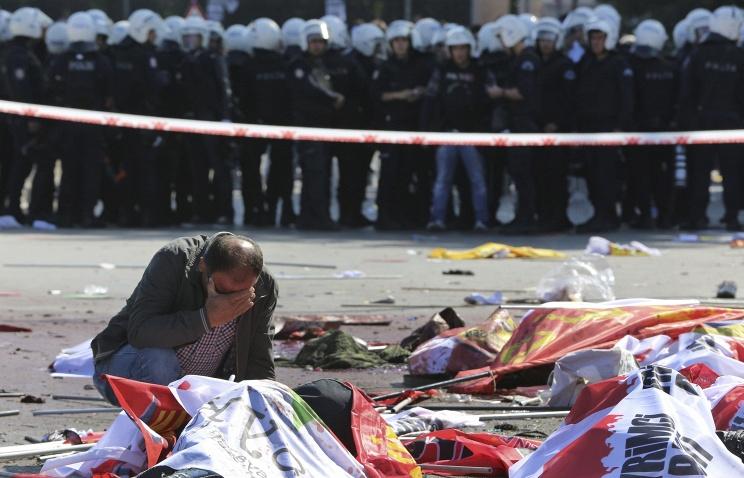 Жертвами взрывов в Анкаре стали 86 человек, пострадали более 200
