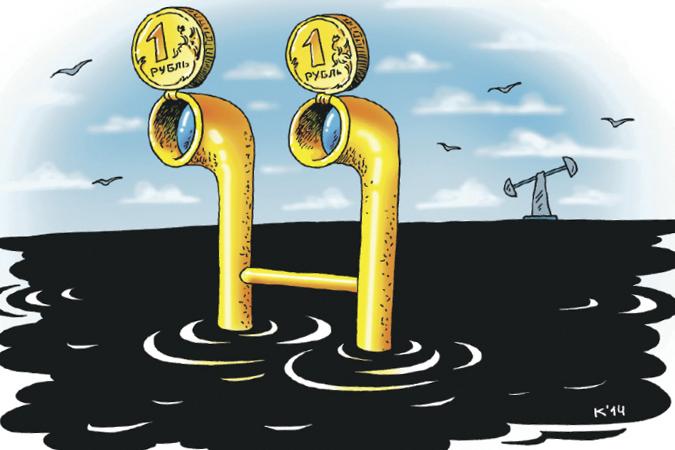 Нефть и рубль дорожают на признаках падения сланцевого бурения в США