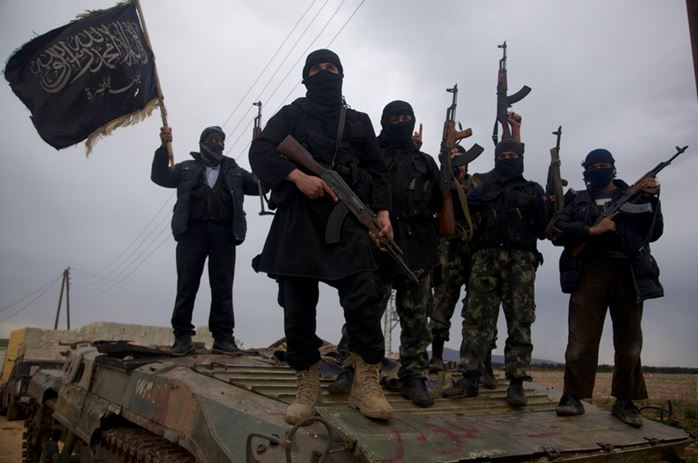 """Боевики """"Джабхат ан-Нусра"""", российскими авиаударами по которым возмущаются некоторые страны мира"""