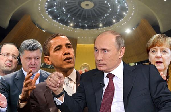 Украину будут вместе с Европой принуждать к выполнению Минских соглашений