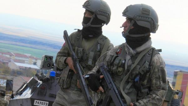 Dec. 2, 2015 - Mardin, Türkiye - Security operations against PKK terrorists at Derik, Mardin, a southeast city of Turkey (Credit Image: © Depo Photos via ZUMA Wire)