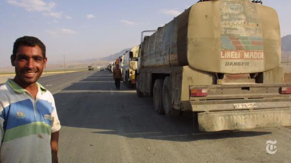 Турецкие бензовозы в Сирии
