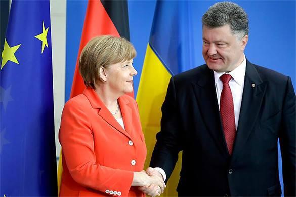 Меркель чуть не отхлестала Порошенко по мордасам