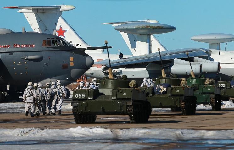 Какие учения ожидают российскую армию в 2016 году