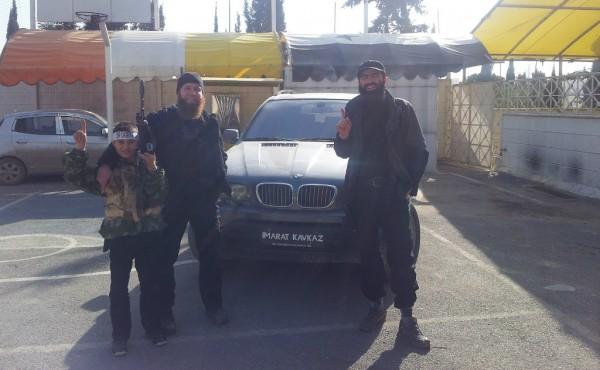 Умар Шишани и Сейфуллах Шишани в Алеппо, 2013
