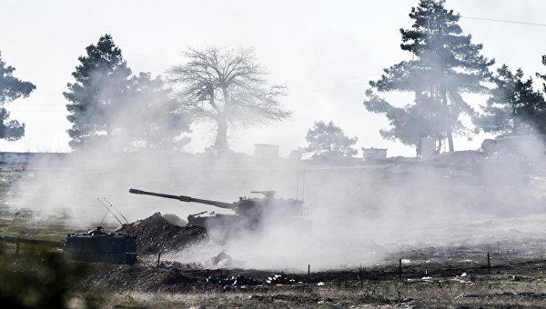 Эрдоган заявил, что Турция продолжит обстрел курдских сил в Сирии