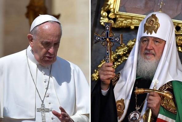 Общие цели Русской Православной церкви и Ватикана вызвали истерику в США