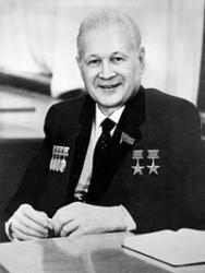 Владимир Челомей — советский конструктор ракетно-космической техники