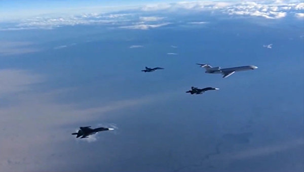 Первые Су-34, вылетевшие из Сирии, приземлились под Воронежем