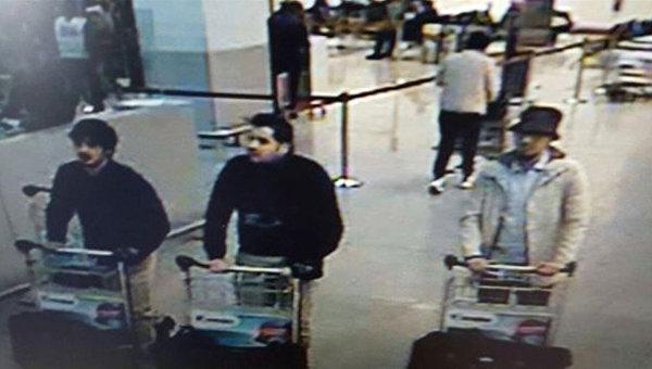 Стали известны имена подозреваемых в совершении терактов в Брюсселе