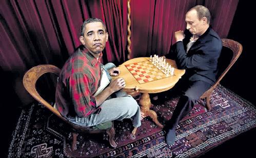Россия и США на «великой шахматной доске»: новая партия