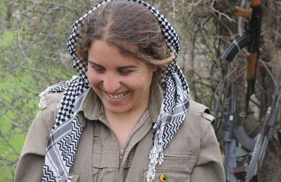 Партизанка Розари успела повоевать в Сирии против террористов