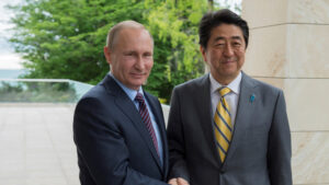 Назло Обаме: Владимир Путин встретился с Синдзо Абэ