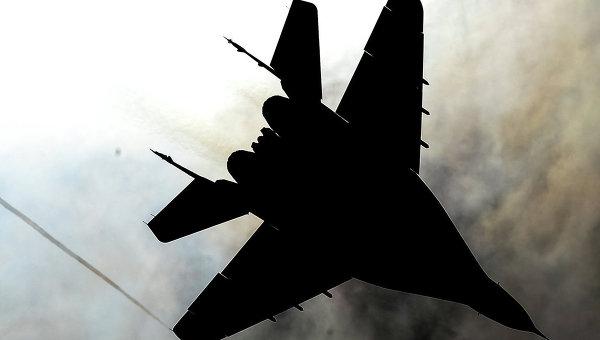 В Подмосковье упал истребитель МиГ-29, пилот погиб