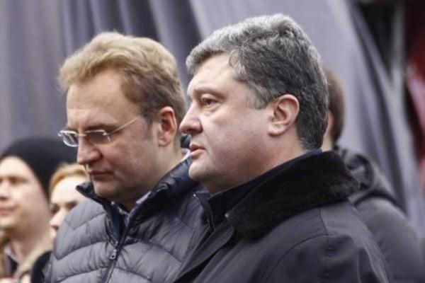 Мусорная проблема президента Порошенко