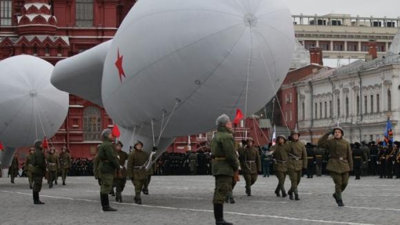 ВКС России украсят воздушными шарами