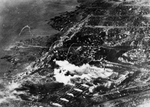 Russland, Kampf um Stalingrad, Luftangriff