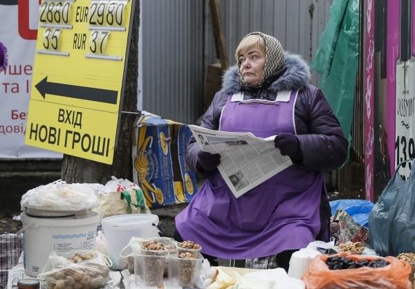 Жизнь на Украине теплится лишь в пяти городах