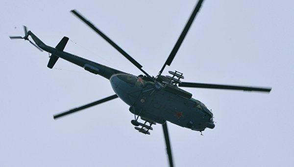 В провинции Идлиб сбит российский военно-транспортный вертолет Ми-8