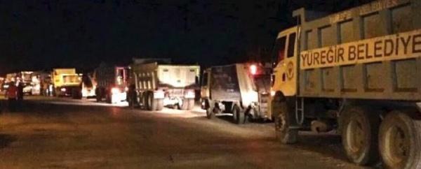 Блокада базы Инджирлик турецкими силовиками