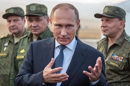 Сигнал для Запада, или Кого тренирует Путин?