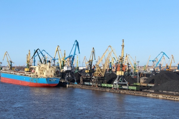 Как пустеют порты Латвии