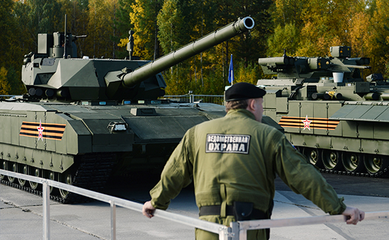 Russia Arms Expo 2015 opens in Nizhny Tagil
