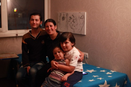 Бахижа Хамад с детьми