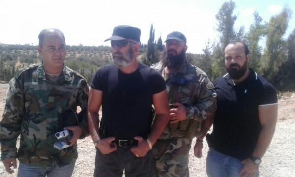 Али аль Ауар (слева), Сирия. Фото из личного архива его жены.