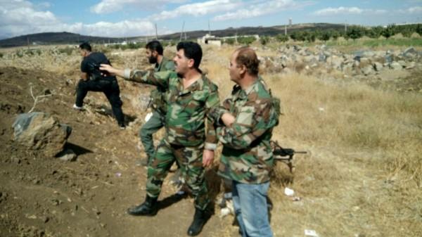 Али аль Ауар (справа), Сирия. Фото из личного архива его жены.
