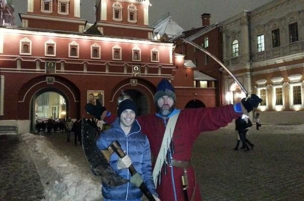 Приключение американца в России или «Остаться в живых»