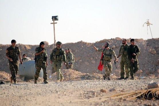 Американские инструкторы в операции «Гнев Евфрата»