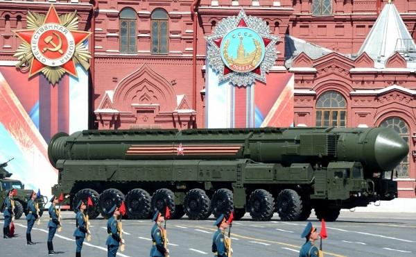 РС-24 на параде Победы