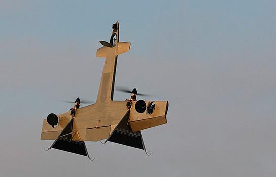 В России разработан универсальный БЛА с вертикальным взлетом и посадкой