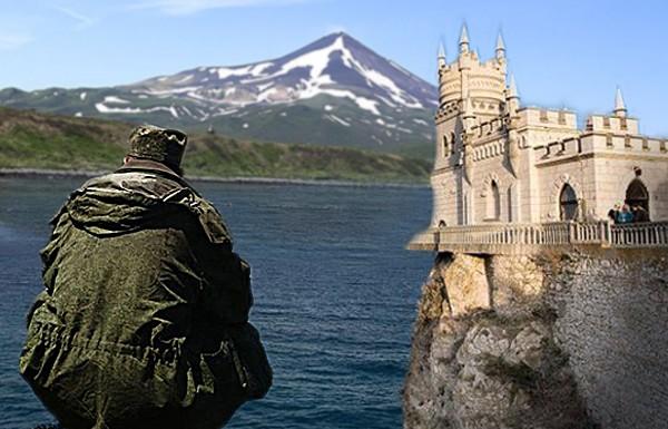 Украинцы размечтались: Крым и Курилы завяжут в один сценарий?