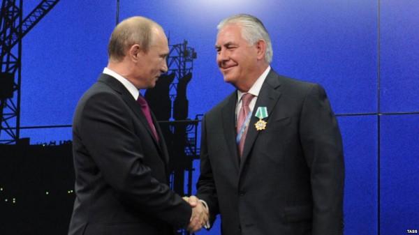 Назначенный госсекретарь Тиллерсон о России сурово