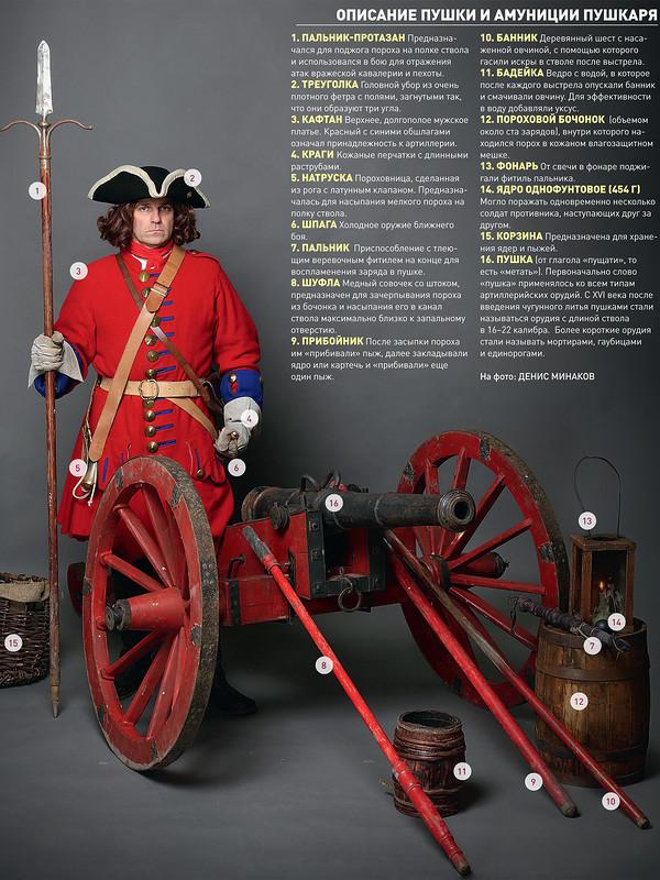 Петровская полевая пушка: как она устроена?