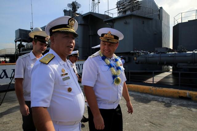 Россия и Филиппины впервые проведут морские учения