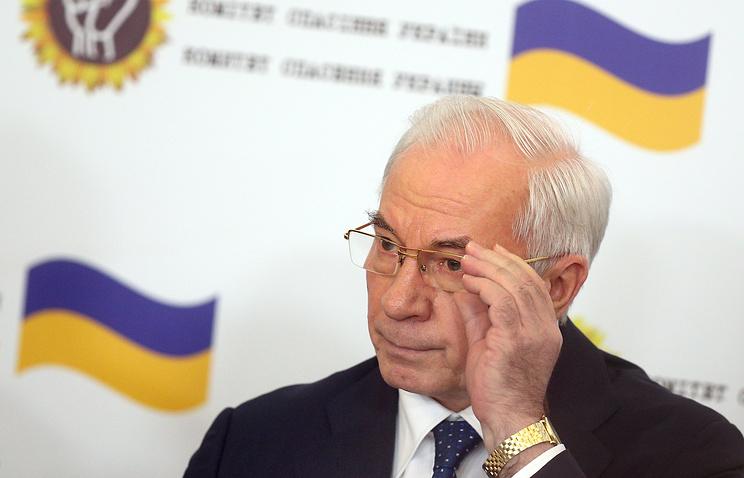 Николай Азаров допускает создание правительства Украины в изгнании