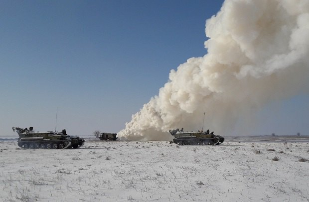 Украина провела ракетные учения вблизи Крыма