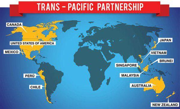 """Трамп """"топит"""" Транстихоокеанское партнерство"""