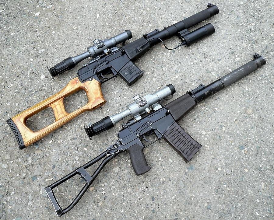 Без шума и пыли: Оружие специального назначения — «Вал» и «Винторез»