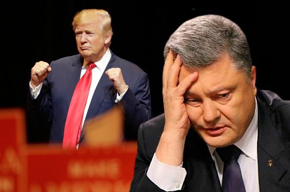 Отчаяние Порошенко: Киев устроил Трампу проверку боем
