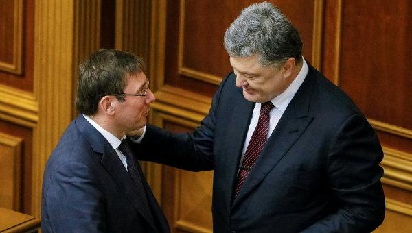 """""""Терпеть невозможно"""": Что Порошенко не простит Луценко"""