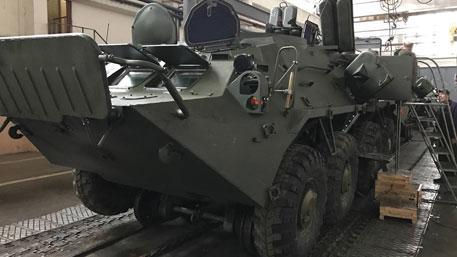 На Украине представили БТР – «мечту десантника»